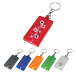 Jaunt LED Light Key Chain