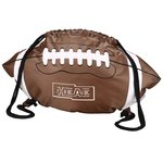 Game Time! Football Drawstring Backpack-Overstock