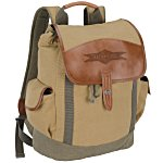 Cutter & Buck Legacy Cotton Rucksack Backpack -24 hr