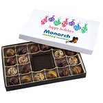 Truffles & Chocolate Bar - 20 Pieces - Happy Holidays