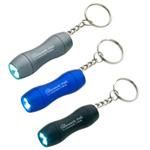 Mini Aluminum LED Lightkey Chain