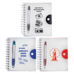 Silhouette Notebook with Highlighter Pen
