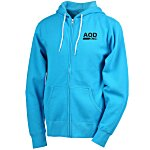 Unisex Full-Zip Hooded Sweatshirt - Screen