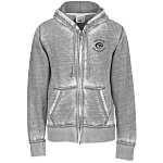 J. America Zen Full-Zip Hooded Sweatshirt - Men's - Screen