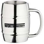 Stainless Barrel Mug - 14 oz.