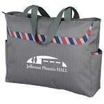 Dapper Zippered Business Tablet Tote