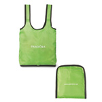 Tempo Collapsible Reusable Shopper Tote- Apple