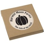 Absorbent Stone Coaster Duo - Round