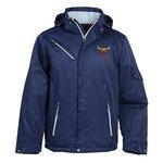 Rivet Textured Twill Insulated Jacket - Men's