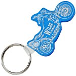Motorcycle Soft Key Tag - Translucent