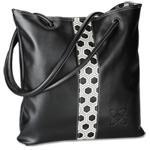 Lamis Tote with Fashion Accents - Hexagon