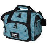 12-Can Convertible Duffel Cooler - Dots - 24 hr