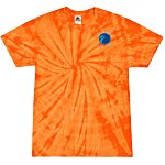 Tie-Dye T-Shirt - Tonal Spider - Embroidery