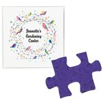 Plant-A-Shape Flower Seed Value Packet - Puzzle Piece