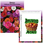Standard Series Seed Packet - Giant Zinnia