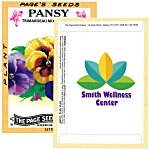 Antique Series Seed Packet - Pansy