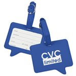 Text Luggage Tag