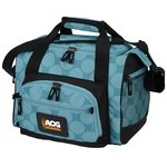 12-Can Convertible Duffel Cooler - Dots - FC