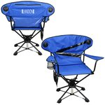 Swivel Folding Camp Chair with Speakers