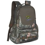 Hunt Valley Camo Laptop Backpack-Embroidered