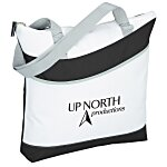 Upswing Zippered Tote - 24 hr