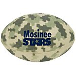 Digital Camo Football Stress Ball