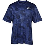 Challenger Camo Performance V-Neck Tee - Men's - Screen