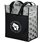 Horizons Laminated Tote - Hexagon