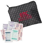 Fashion First Aid Kit - Vine Chevron