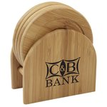Bamboo Coaster Set - Closeout