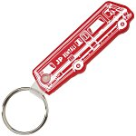 RV Soft Key Tag - Translucent