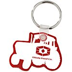Tractor Soft Key Tag - Opaque