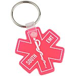 Medical Symbol Soft Key Tag - Translucent