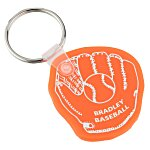 Baseball Mitt Soft Key Tag - Translucent