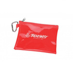 Large Translucent Pouch with Carabiner