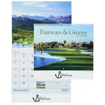 Fairways & Greens 2015 Calendar - Spiral - Closeout