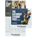 Saturday Evening Post Norman Rockwell Calendar-Stpl-Closeout