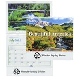 Beautiful America 2015 Calendar - Pocket- Closeout