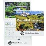 Beautiful America 2015 Calendar - Pocket- Closeout