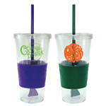Revolution Double Wall Tumbler with Straw - 20oz.