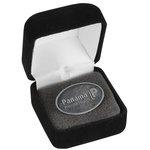 Econo Lapel Pin - Oval - Gift Box