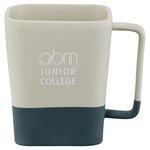 Step Up Ceramic Mug - 14 oz. - Laser Imprint