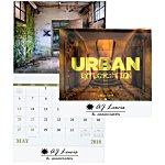 Urban Exploration Calendar - Stapled
