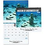 Underwater Art Calendar - Stapled