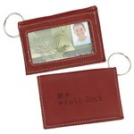 Arrow Canyon Leather ID Holder-Key Tag - Closeout