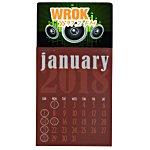 Vibrant Press-n-Stick Calendar