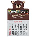 Paws and Claws Press-n-Stick Calendar-Bear