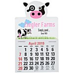 Paws and Claws Press-n-Stick Calendar-Cow