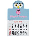 Paws and Claws Press-n-Stick Calendar-Owl