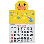 Paws and Claws Press-n-Stick Calendar-Duck